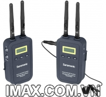 Mic thu âm VmicLink5 HiFi Saramonic 5.8GHz Wireless Lavalier Microphone 1TX 1RX