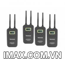 Mic thu âm Saramonic VmicLink5 5.8GHz Wireless Lavalier Microphone 3TX 1RX