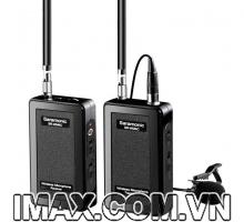Mic song phin thu âm gài áo không dây SR-WM4C VHF Wireless Microphone Saramonic