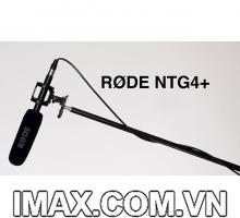 Micro RODE NTG4+ chính hãng dành cho Máy Quay Phim, Micro Phỏng Vấn RODE