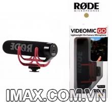 Mic thu âm Cardioid gắn máy ảnh Rode VideoMic Go