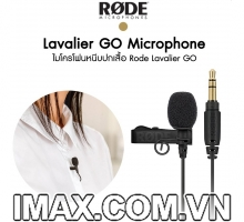 Mic thu âm cài áo Rode Lavalier GO