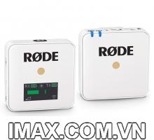 Mic thu âm Rode Wireless Go bản màu trắng (White Edition)