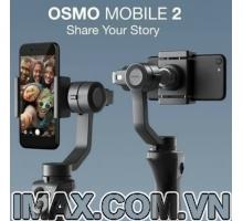 Thiết bị chống rung DJI Osmo Mobile 2 - Gimbal 3 trục cho điện  thoại - Hàng nhập khẩu