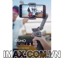 Thiết bị chống rung DJI OSMO Mobile 3 - Gimbal 3 trục cho điện thoại
