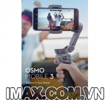 Thiết bị chống rung DJI OSMO Mobile 3 Combo - Gimbal 3 trục cho điện thoại - Chính Hãng