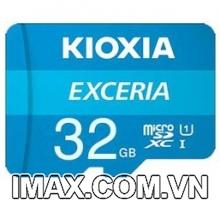 Thẻ nhớ MicroSD 32GB Kioxia Exceria 100/15 Mb/s