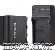 Bộ 1 pin 1 sạc Ravpower for Sony NP-F970