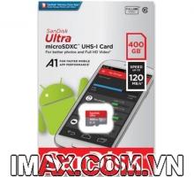 Thẻ nhớ MicroSD 400GB Sandisk Ultra A1 120 MB/s (Bản mới nhất)