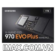 Ổ cứng SSD M2-PCIe 1TB Samsung 970 EVO Plus NVMe 2280