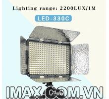 Đèn Led video light Kingma LED-330C + Adaptor chính hãng