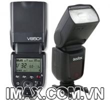 Đèn Flash Godox VING V850II GN58 HSS for Canon/Nikon/Pentax/Sony - Hàng chính hãng