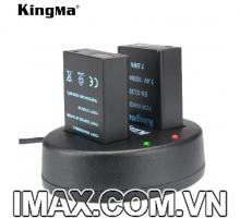 Bộ 2 pin 1 sạc đôi Kingma cho Nikon EN-EL20