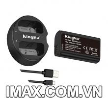 Bộ 1 pin 1 sạc đôi Kingma cho Panasonic DMW-BLJ31