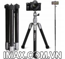 Chân máy ảnh kết hợp gậy chụp ảnh Coman MT55( Bestbuy Amazone 2021)