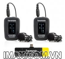 Mic thu âm Saramonic Blink 500 Pro B6 cổng Type-C một bộ thu, hai bộ phát