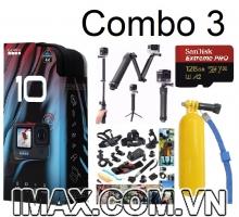 Combo 3: Gopro Hero 10 Black + Quà tặng