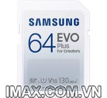 Thẻ nhớ SD 64GB Samsung EVO Plus For Creators