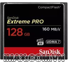 Thẻ nhớ CF Sandisk Extreme Pro 128GB 1067x 160MB/s