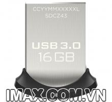 USB 3.0 Sandisk CZ43 Ultra Fit 16GB, 130MB/s, No box
