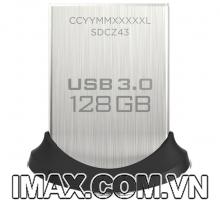 USB 3.0 Sandisk CZ43 Ultra Fit 128GB, tốc độ 130MB/s, No box