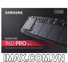 Ổ cứng 512GB SSD Samsung 960 Pro PCIe NVMe M.2 2280