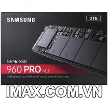 Ổ cứng 2TB SSD Samsung 960 Pro PCIe NVMe M.2 2280
