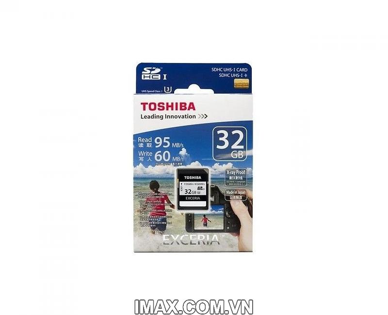 Thẻ nhớ Toshiba SDHC 32GB UHS-I, U3, 95/60MB/s 1