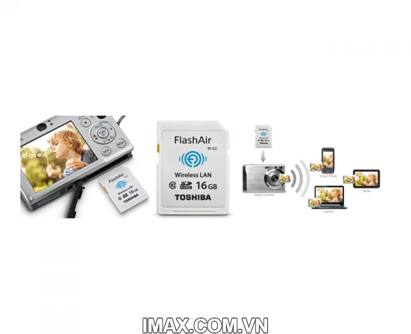 Thẻ nhớ Toshiba SDHC Wifi W-03 32GB Class 10 8