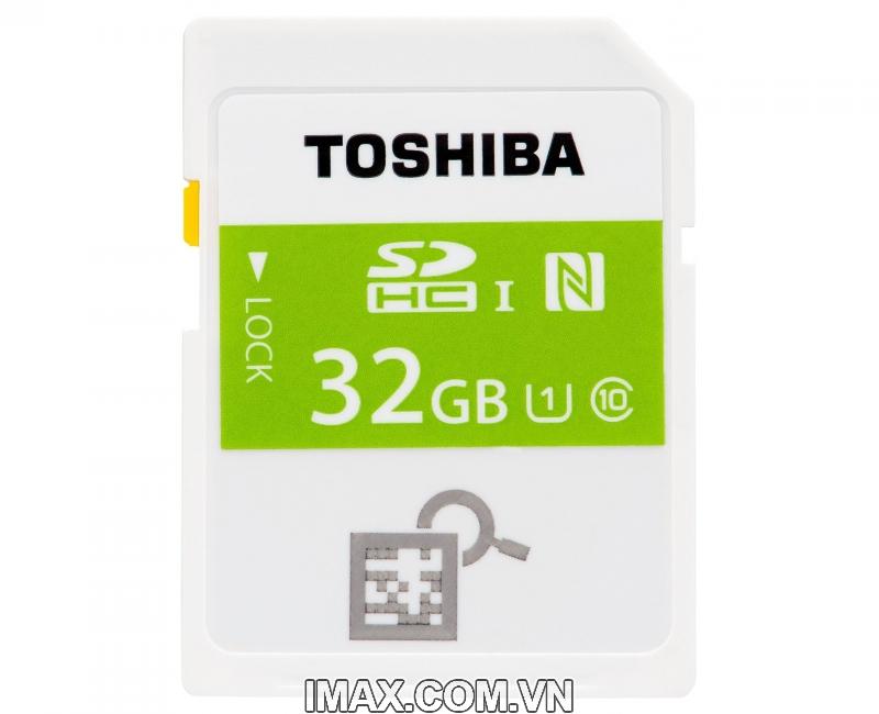 Thẻ nhớ SDHC Toshiba NFC 32GB Class 10 1