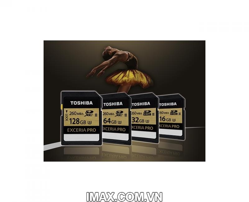 Thẻ nhớ Toshiba SDHC 16GB, UHS-II, 260/240MB/s 1