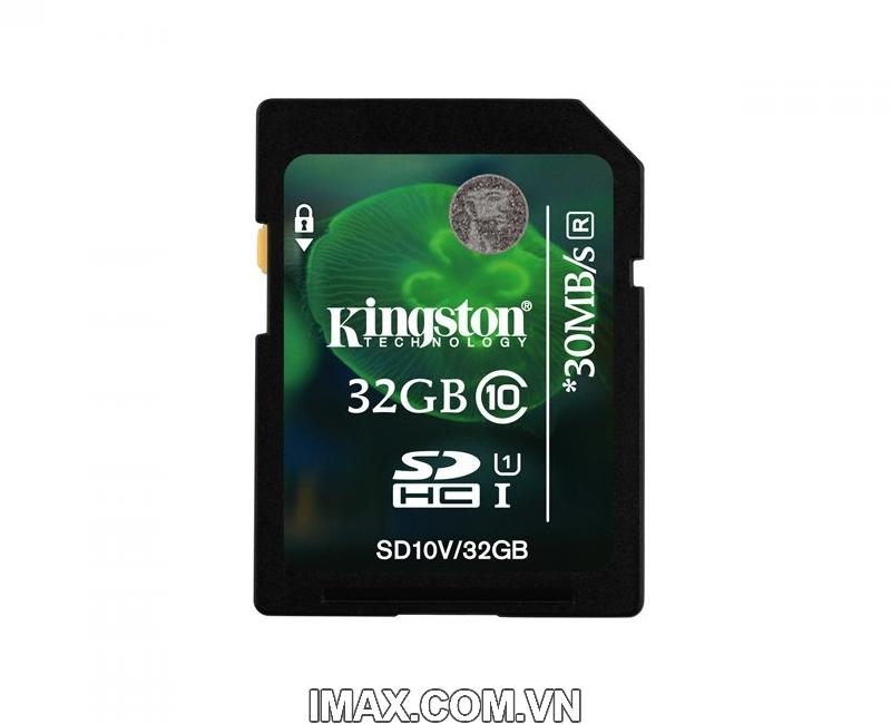 Kingston SDHC 32GB Class 10, UHS-I, 30MB/s 2