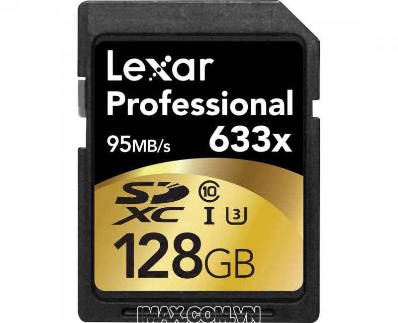 Lexar SDXC 128GB Class 10, U3 633X-95MB/s 4
