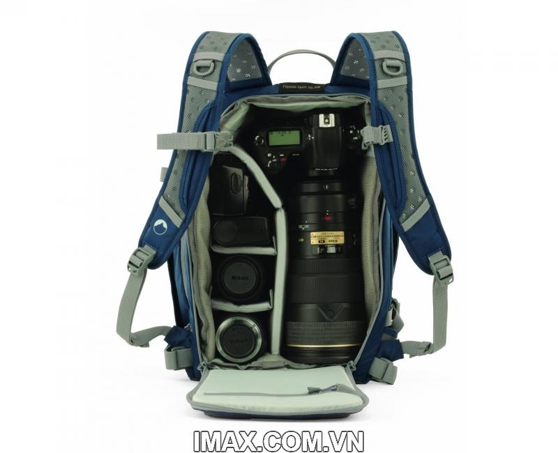 Ba lo máy ảnh Lowepro Flipside Sport 15L AW, Balo thể thao chống nước, Hàng nhập khẩu 2