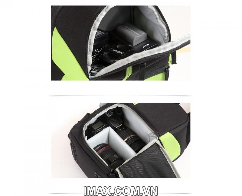 Ba lô máy ảnh Caden D5, 3 màu 6