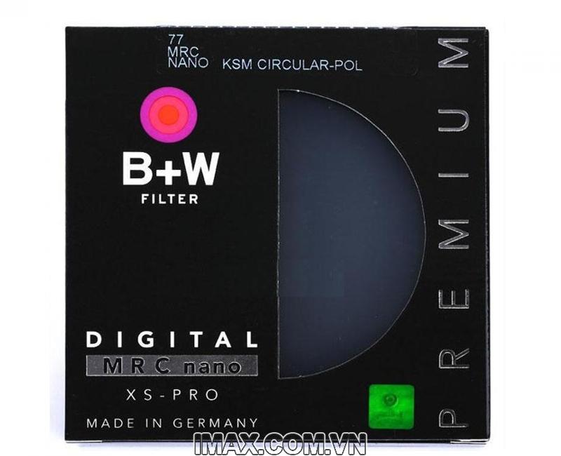 Filter Kính lọc B+W CPL MRC Nano XS-Pro 1
