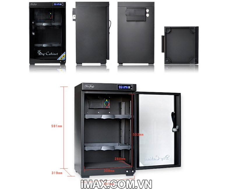 Tủ chống ẩm Huitong DHC-60, 60 Lít 1