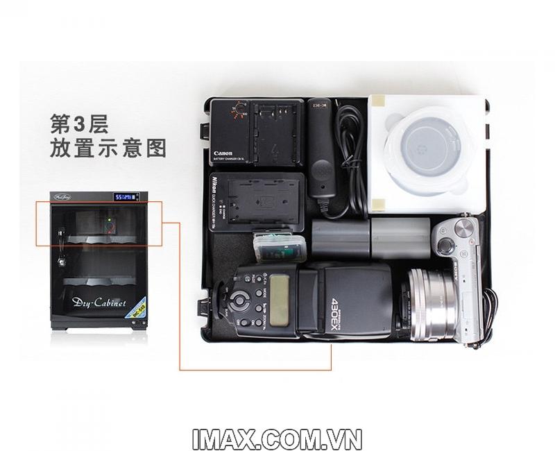 Tủ chống ẩm Huitong DHC-40, 40 Lít 4