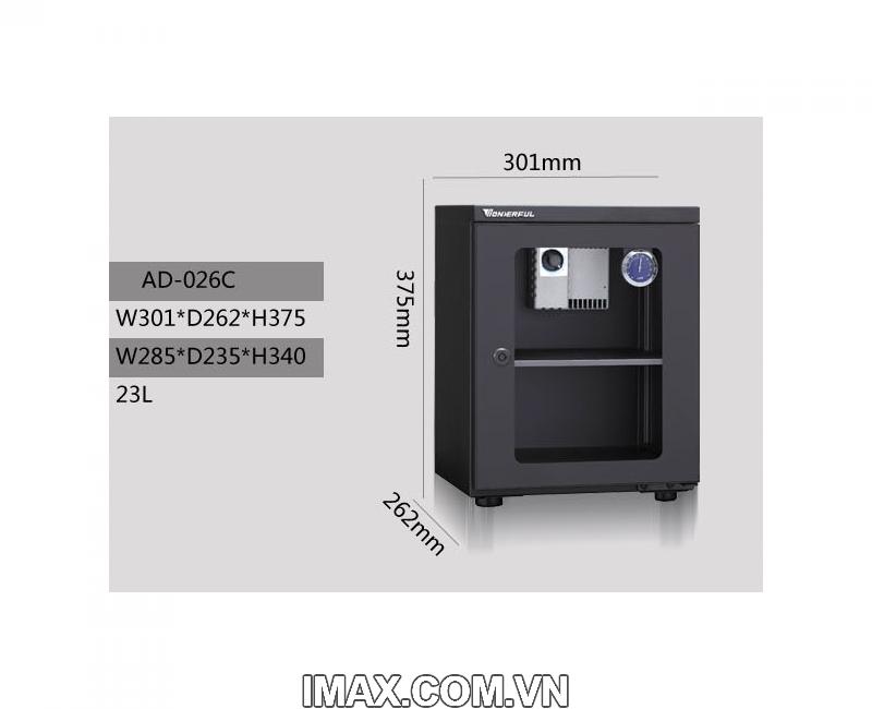 Tủ chống ẩm Wonderful AD-026C, 26Lít 6