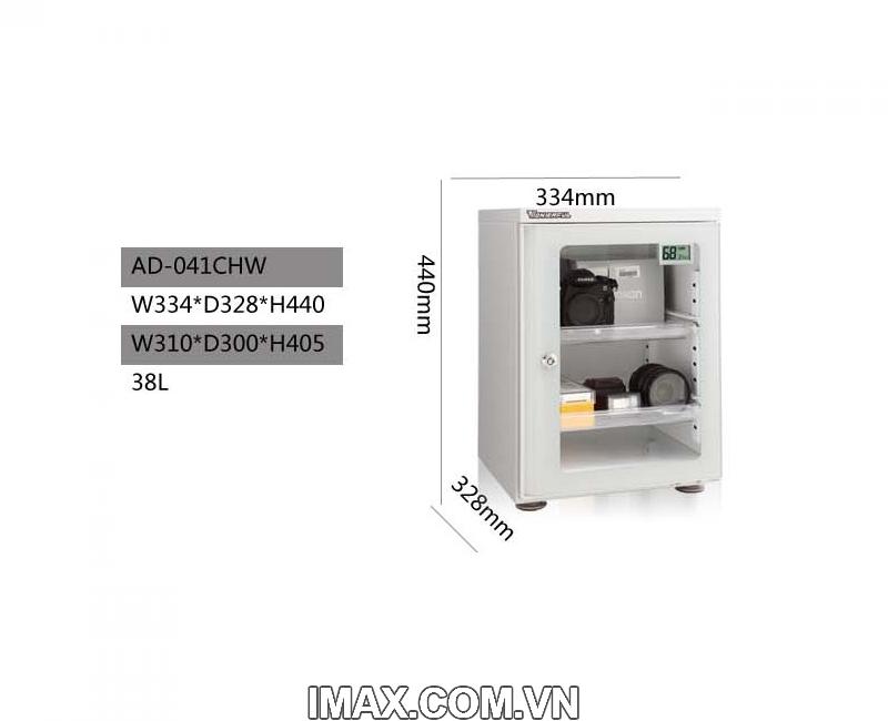 Tủ chống ẩm Wonderful AD-041CHW, 40Lít, trắng 2