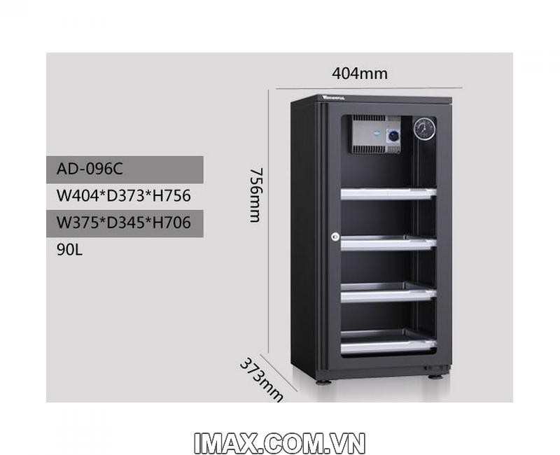 Tủ chống ẩm Wonderful AD-096C, 100 Lít 3