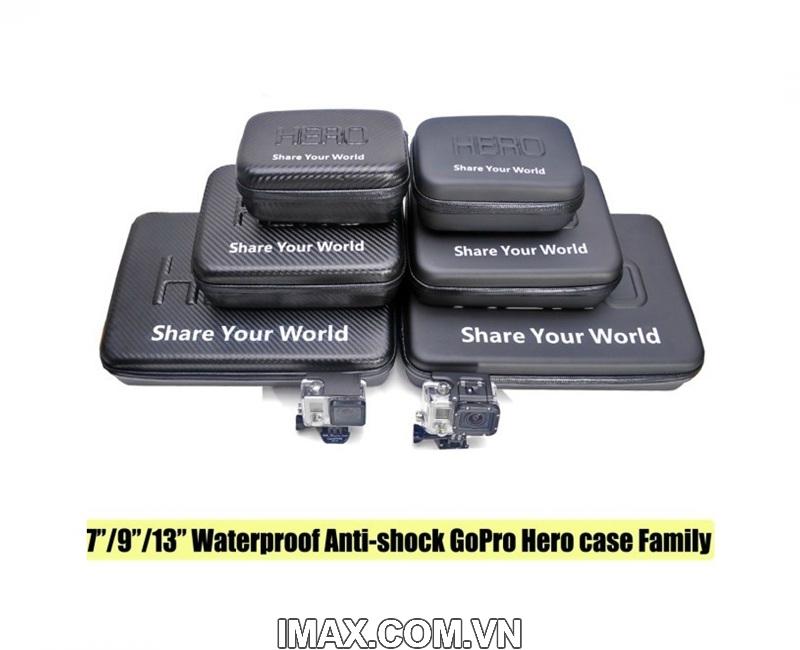 Hộp nhựa đựng Gopro & phụ kiện, chống nước: 9 inch 2