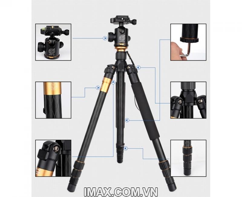 Chân máy ảnh Tripod/ Monopod Beike Q-999 1