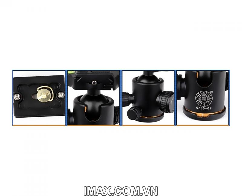 Chân máy ảnh Tripod/ Monopod Beike Q-999 3
