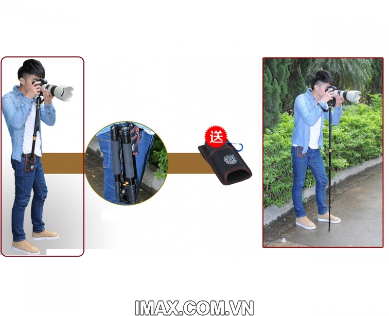Chân máy ảnh Tripod/ Monopod Beike Q-555 13