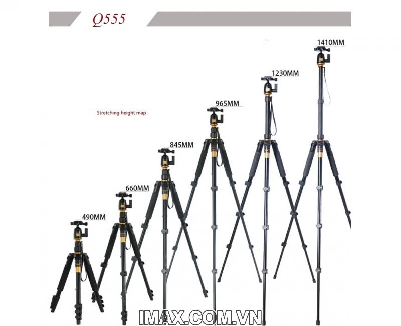 Chân máy ảnh Tripod/ Monopod Beike Q-555 17