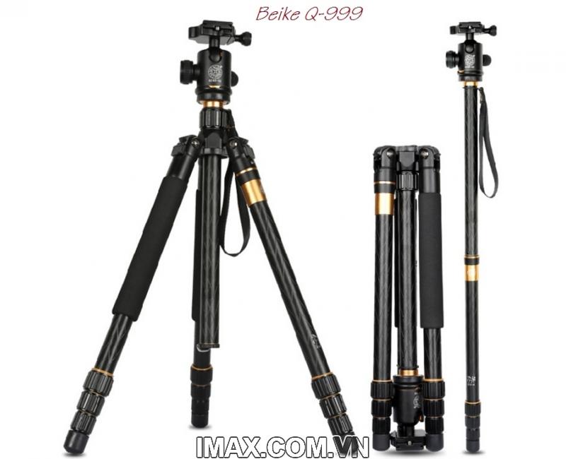 Chân máy ảnh Tripod/ Monopod Beike Q-999 2