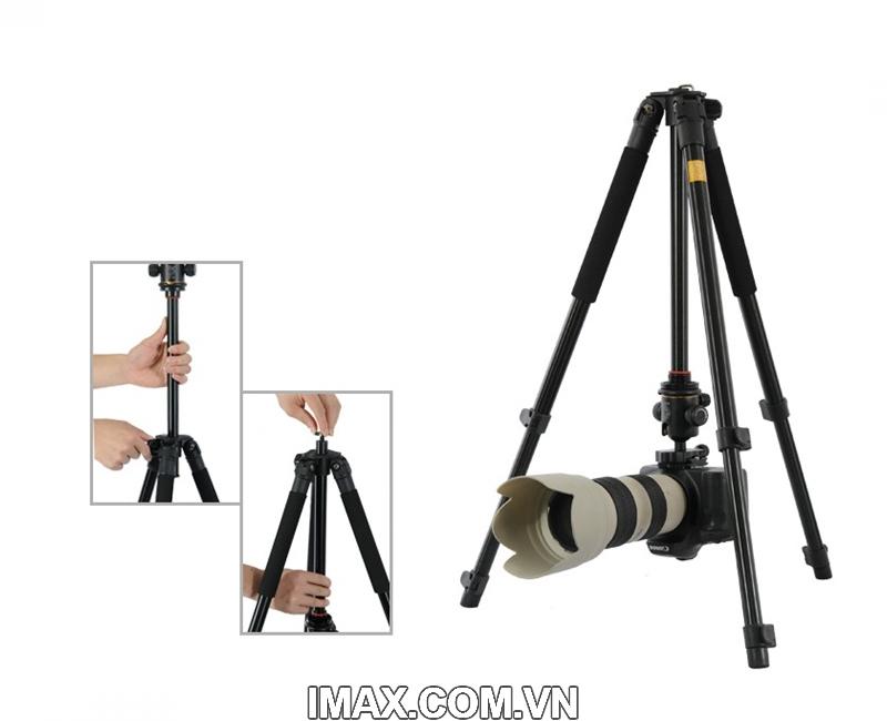 Chân máy ảnh Tripod Beike Q-360 1