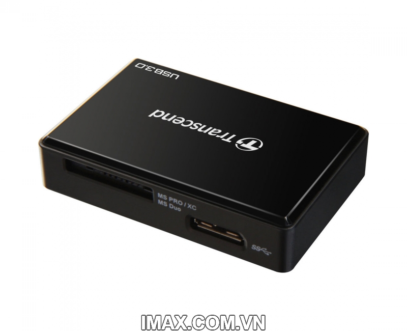 Đầu đọc thẻ All in One Transcend USB 3.0 Super Speed Multi-Card Reader for SD/SDHC/SDXC/MS/CF Cards (TS-RDF8W) 3