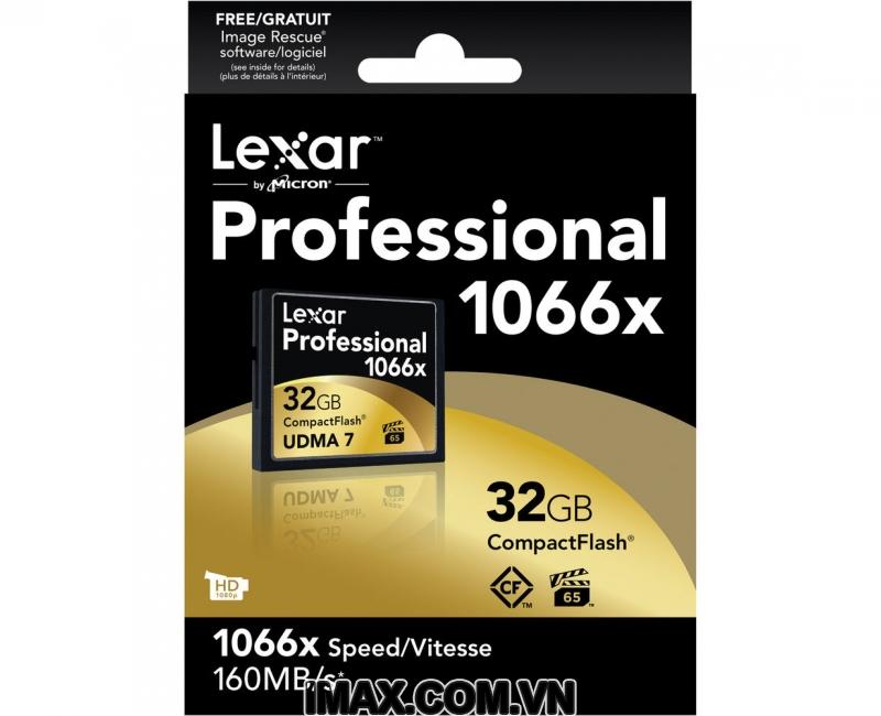 Thẻ nhớ CF Lexar 32GB 1000X-150MB/s 2
